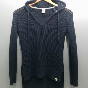 ROXY Hooded Sweater Size Small